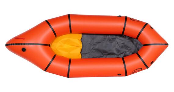 nortik TrekRaft Schlauchboot orange/schwarz